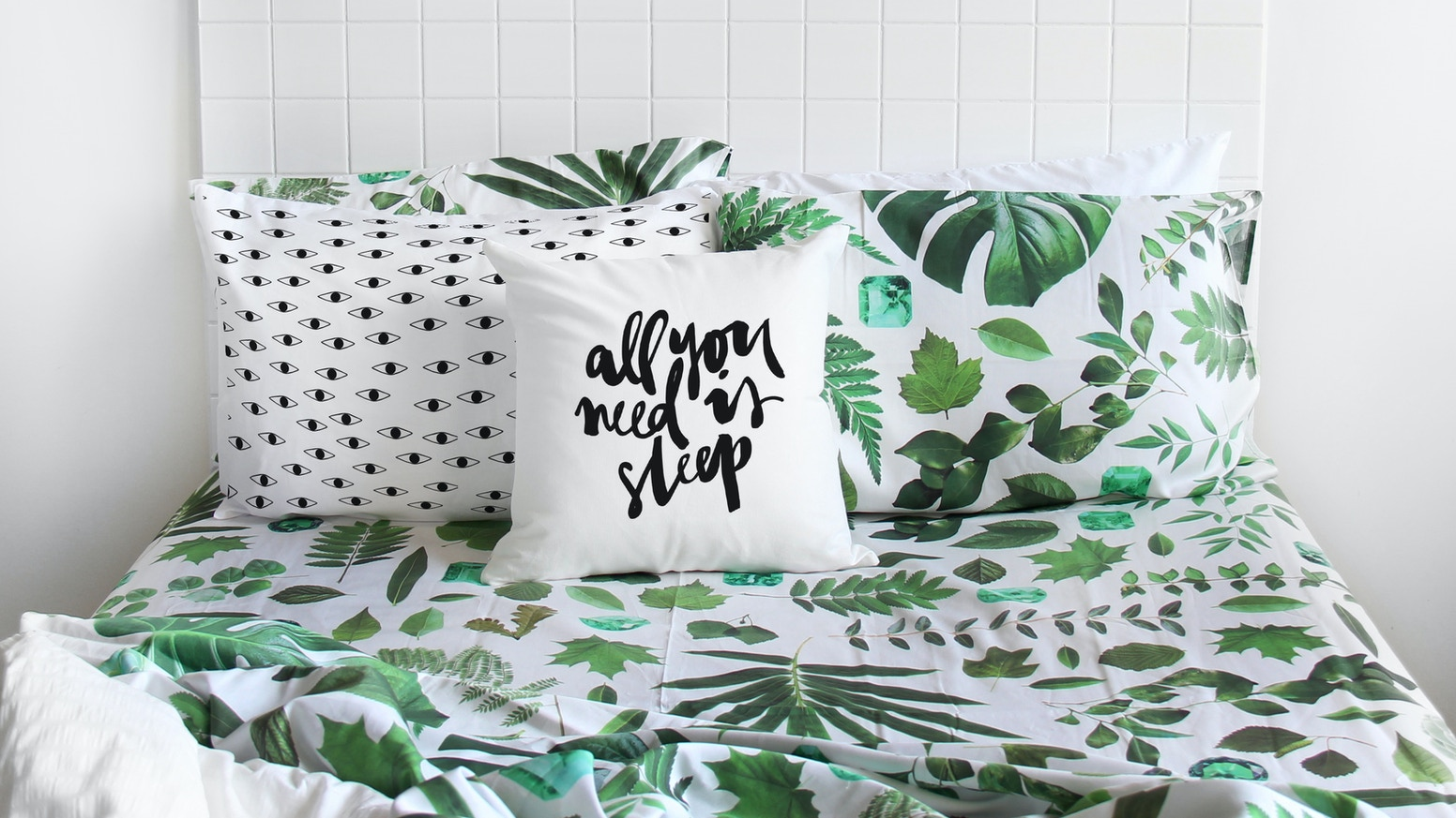 The Club of Odd Volumes are super excited to launch patterned bedding.