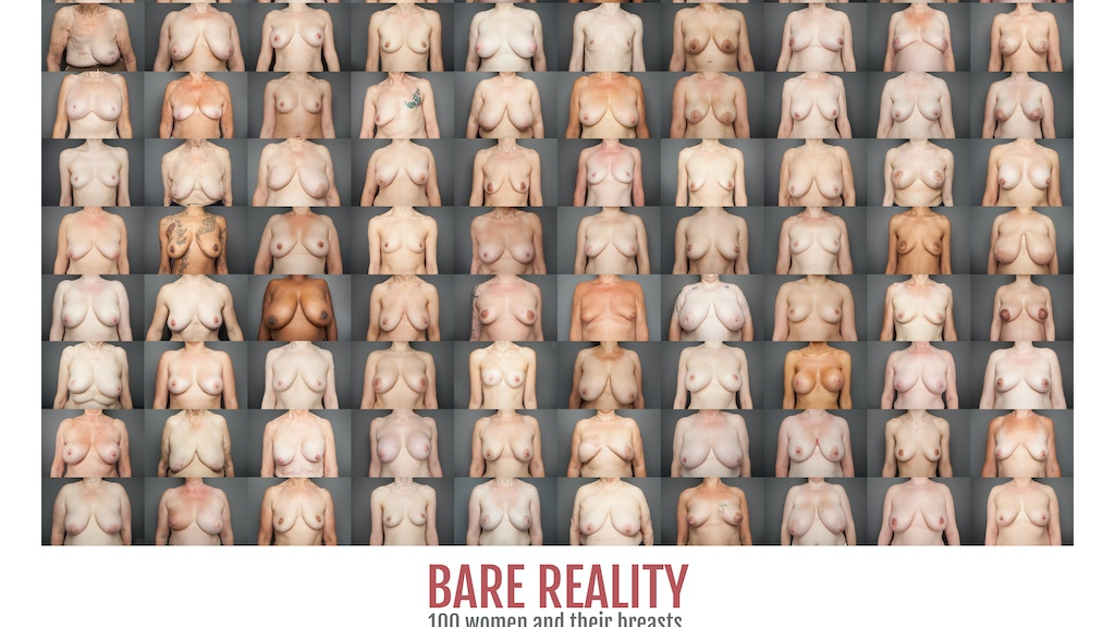 BARE REALITY: 100 women and their breasts project video thumbnail