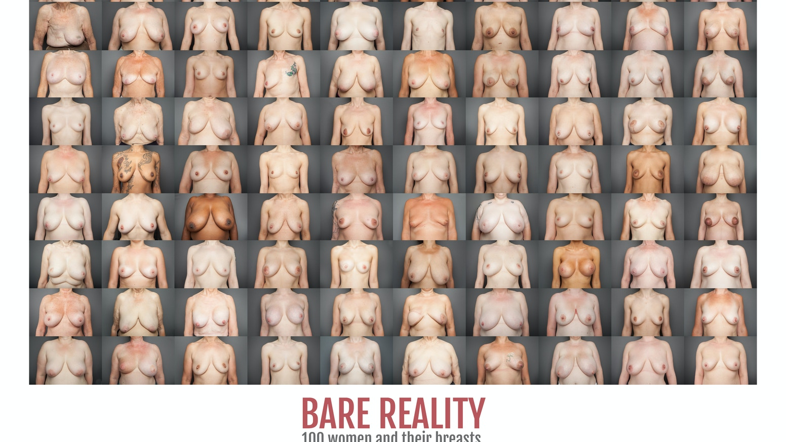 100 women bare their breasts alongside intimate, honest, courageous and moving stories about their breasts and their lives. Now a book!