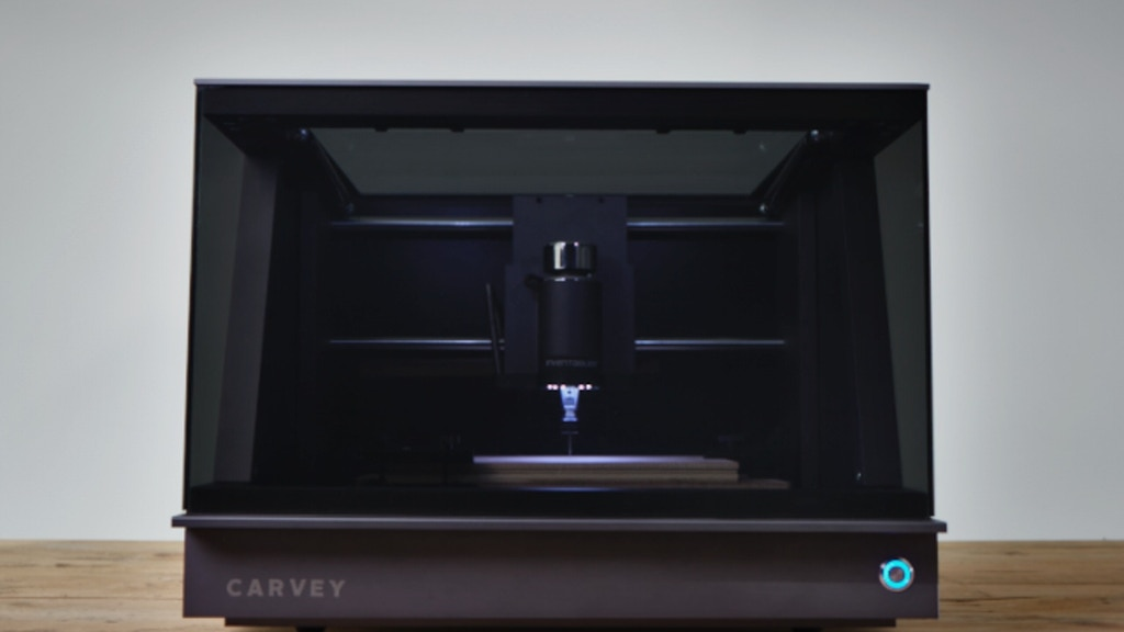 Carvey: The 3D carving machine for the maker in all of us project video thumbnail