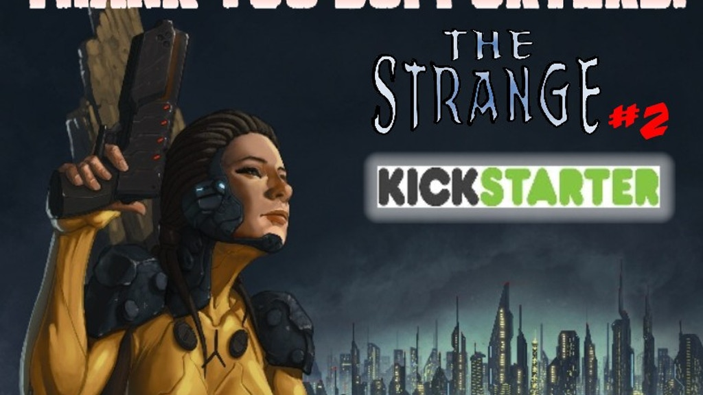 The Strange Issue #2 project video thumbnail