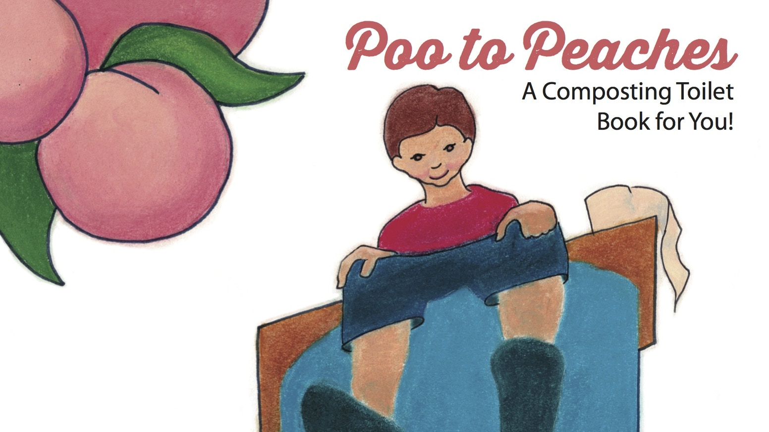 Don't flush it, compost it! Poo to Peaches will teach children about turning wastes into resources with composting toilets.