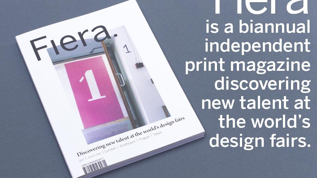 Fiera Magazine project video thumbnail