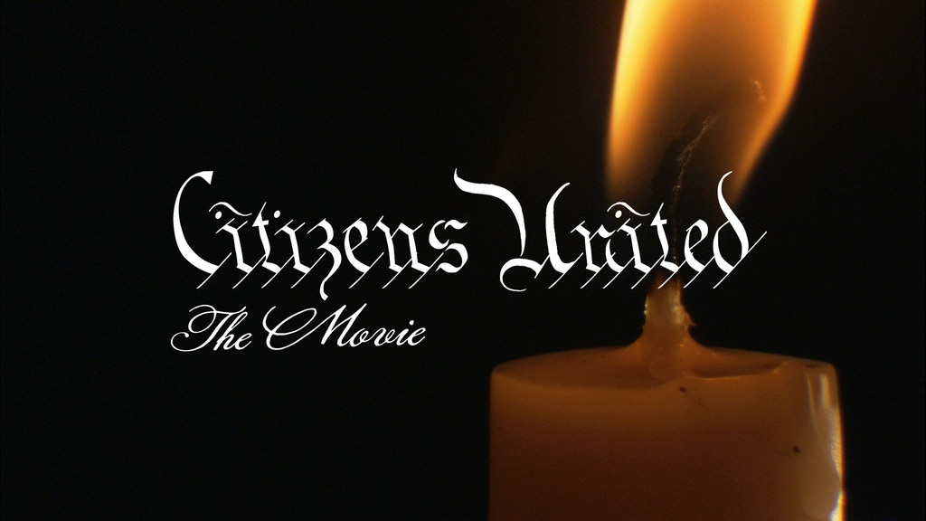 Citizens United, The Movie, Day 2 Shoot project video thumbnail