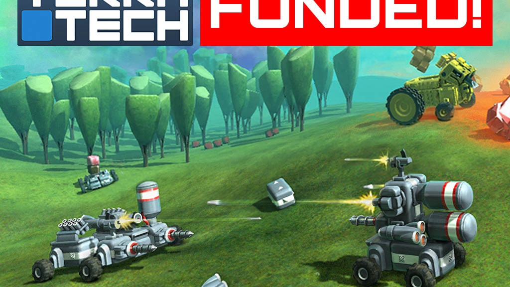 TerraTech – physics-based vehicle construction & combat project video thumbnail