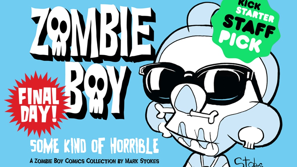 Zombie Boy Comics Volume 1: Some Kind of Horrible project video thumbnail