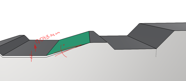 Rendering of Handground step piece