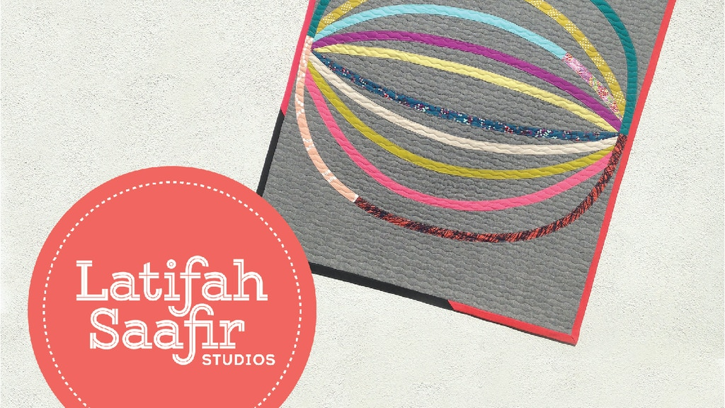 Latifah Saafir Studios: Modern Quilt Patterns and Products project video thumbnail