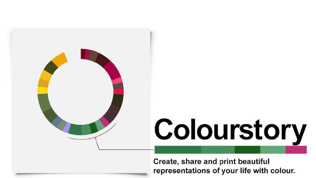 Colourstory: your life, in colour. project video thumbnail