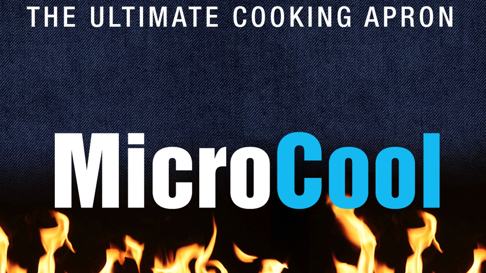 53d2d1ade1c MicroCool   The Ultimate Cooking Apron with micro-thermal technology to  repel hot oil and boiling liquids.