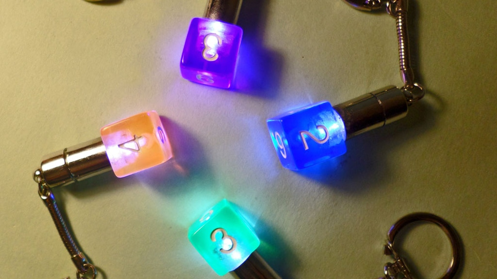 RPG LED Dice Keychain project video thumbnail