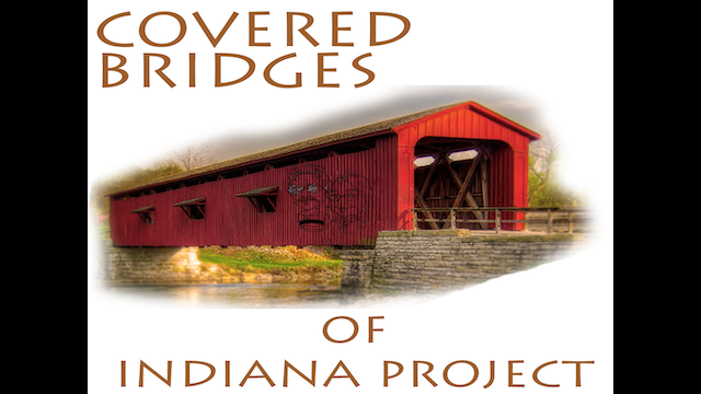 Covered bridges of indiana project by mcpvision kickstarter for Charity motors bridge card