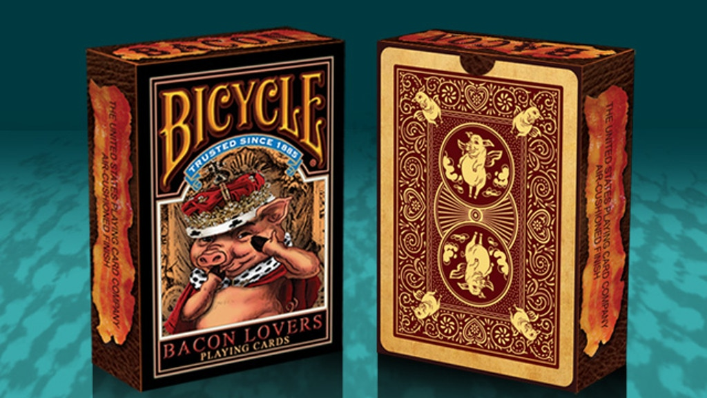 Project image for Bicycle Bacon Lovers Playing Cards