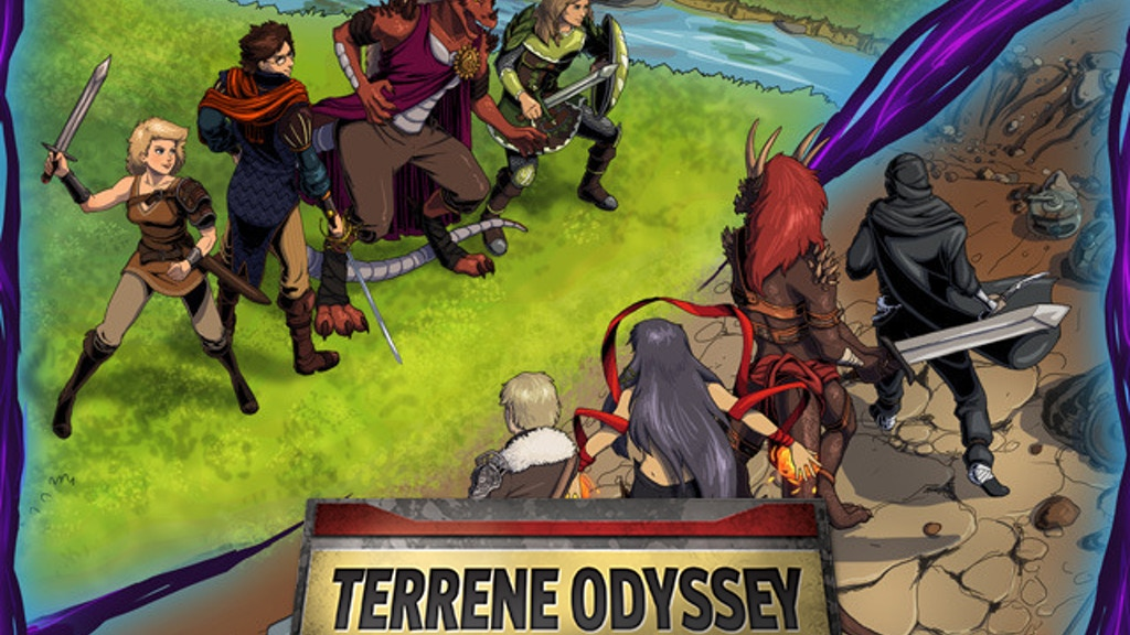 Terrene Odyssey: Party Based Card Combat project video thumbnail