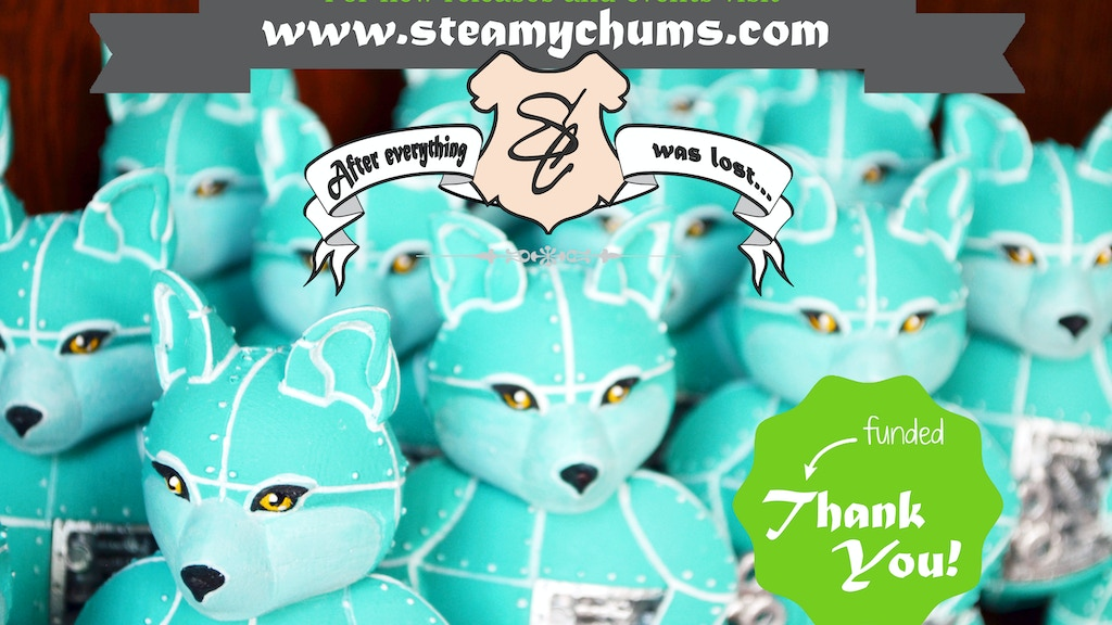 Steamy Chums - Selfcrafted steampunk art toys project video thumbnail