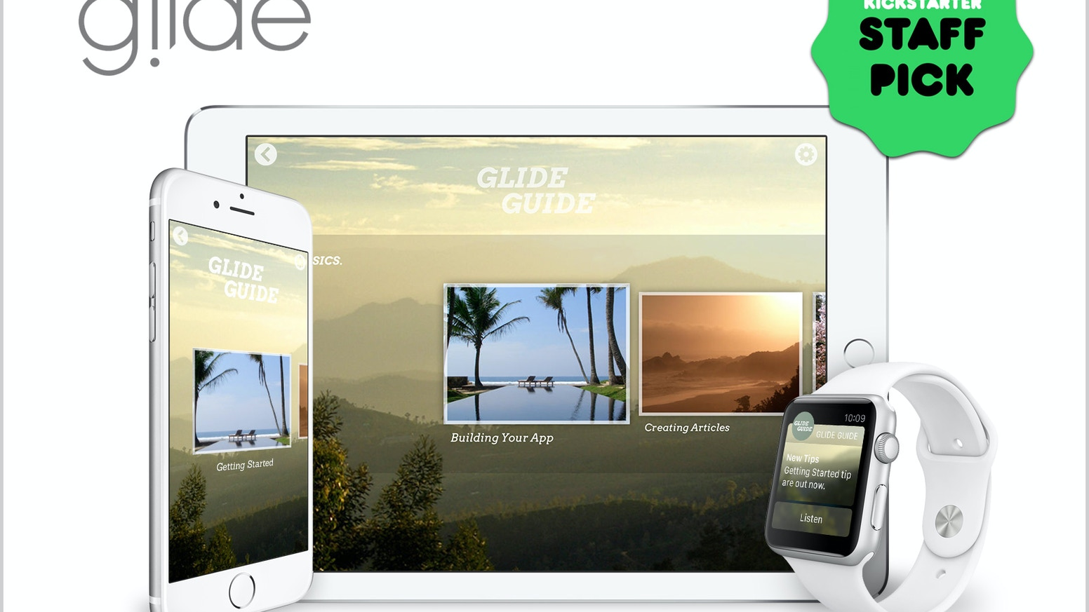 glide beautifully simple professional app creation by chris
