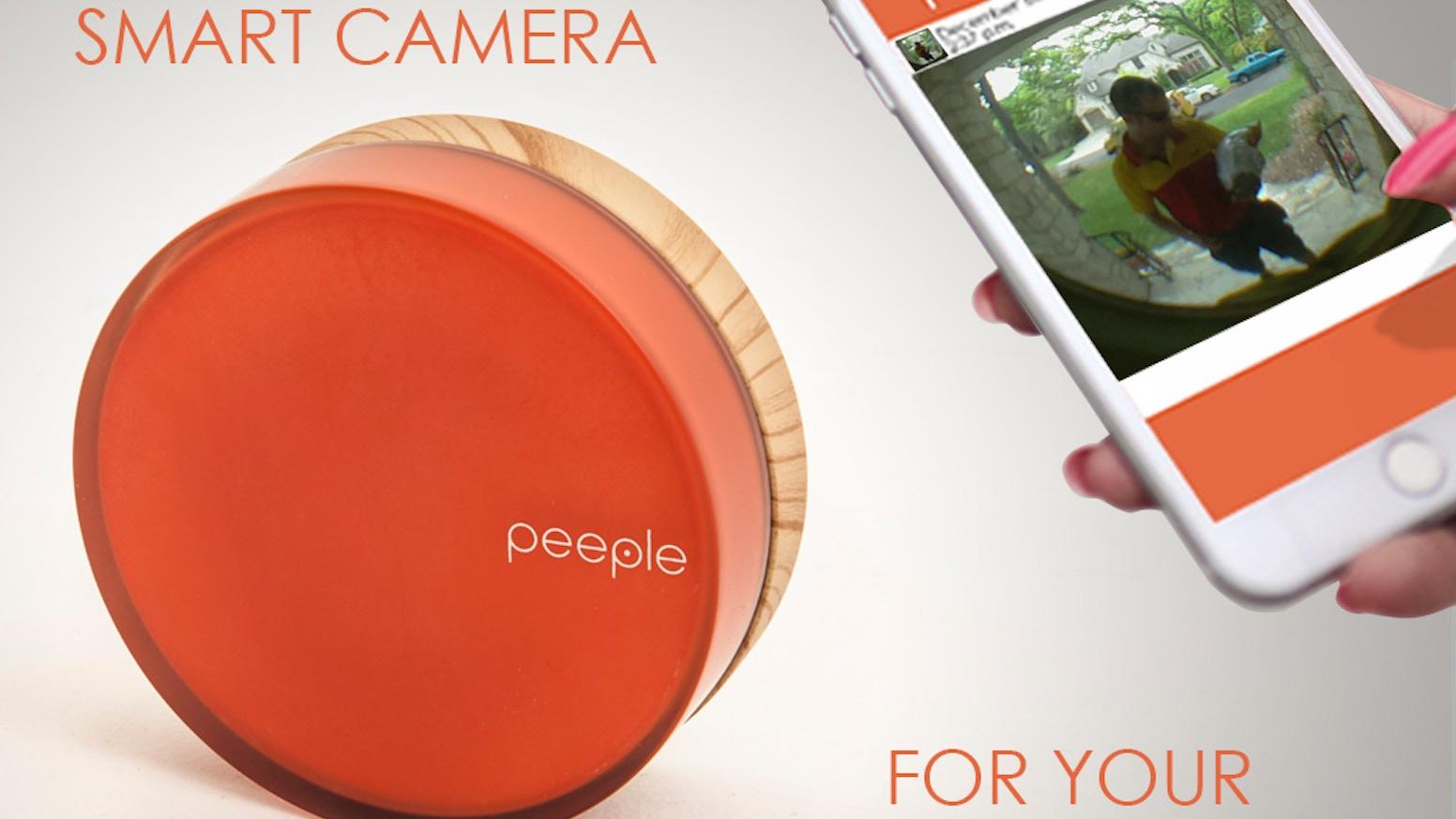 Peeple Caller Id For Your Front Door By Chris Chuter Kickstarter