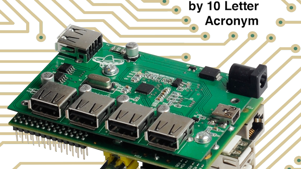 Raspiado - the USB hub that fits your Raspberry Pi project video thumbnail