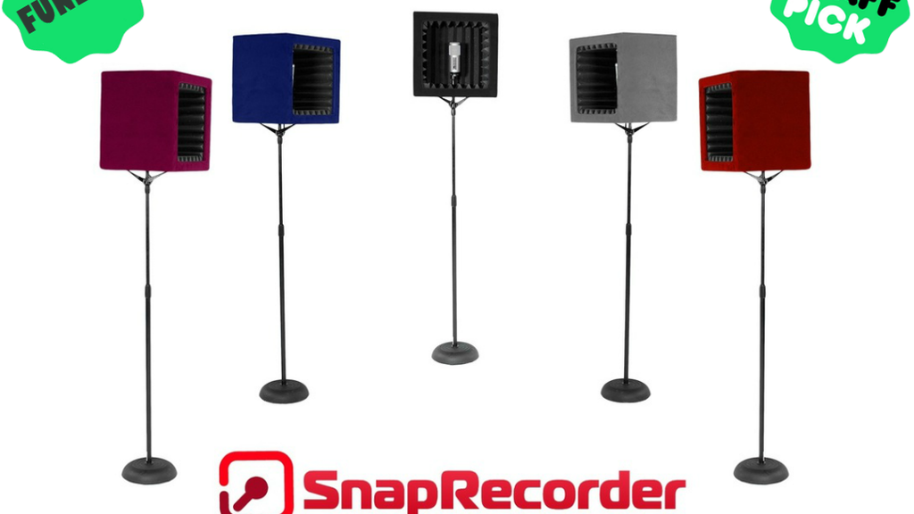 SnapRecorder - Portable Recording Booth project video thumbnail