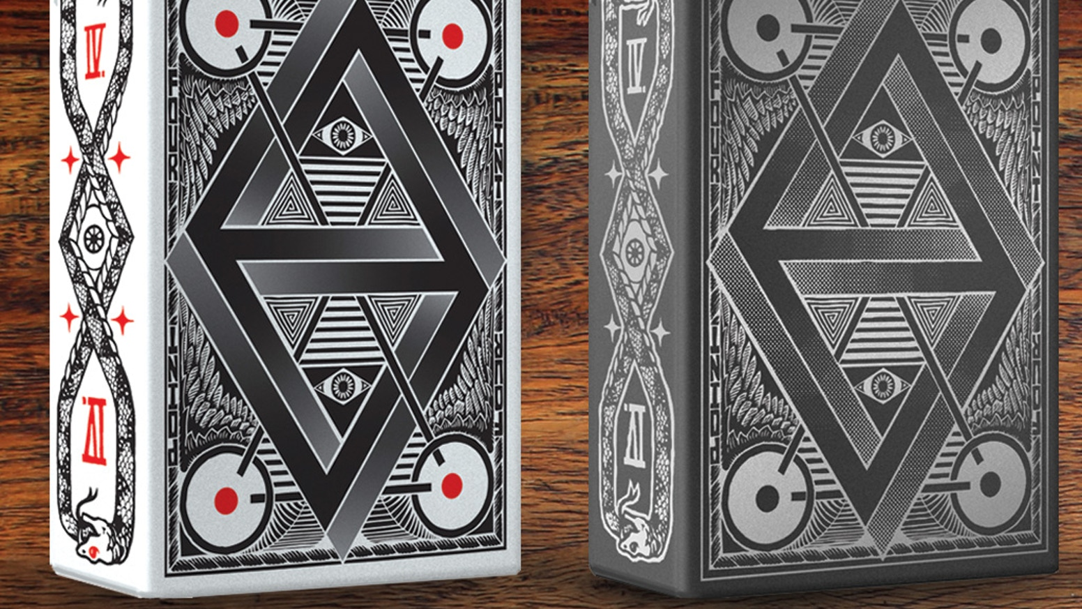 A unique deck of playing cards, illustrated by hand and professionally printed by the USPCC. Original drawings available as rewards.