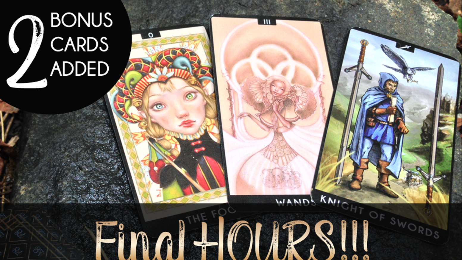 78 talented artists collaborated across the globe - to create a one-of-a-kind, fully functional Tarot deck. Each artist was assigned a card from the Major or Minor Arcana.