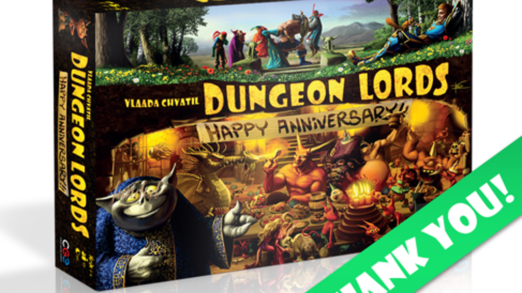 Dungeon Lords Anniversary Edition project video thumbnail
