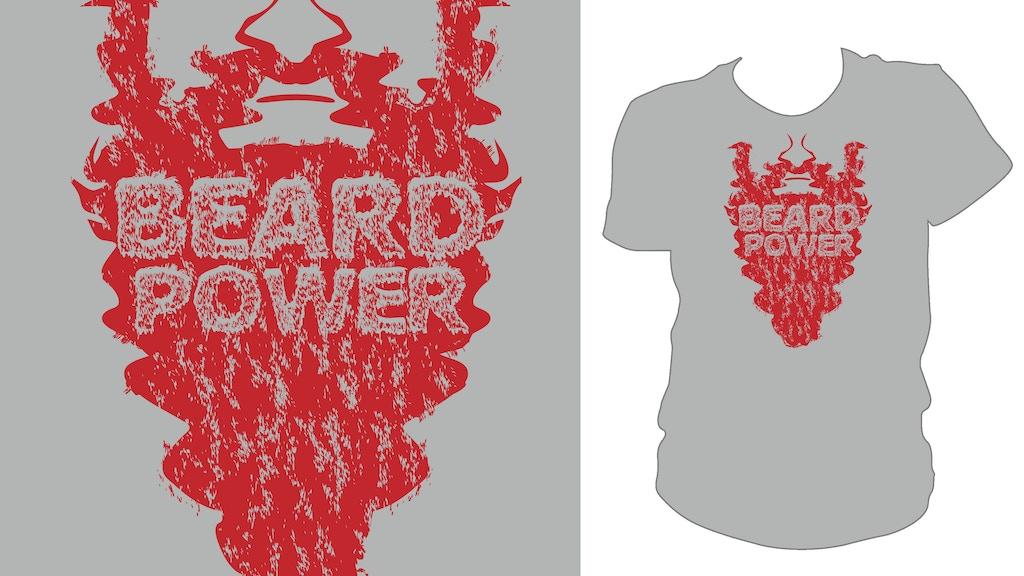 Beard Power CVM Tee-Shirt *Stretch Goals Added* project video thumbnail