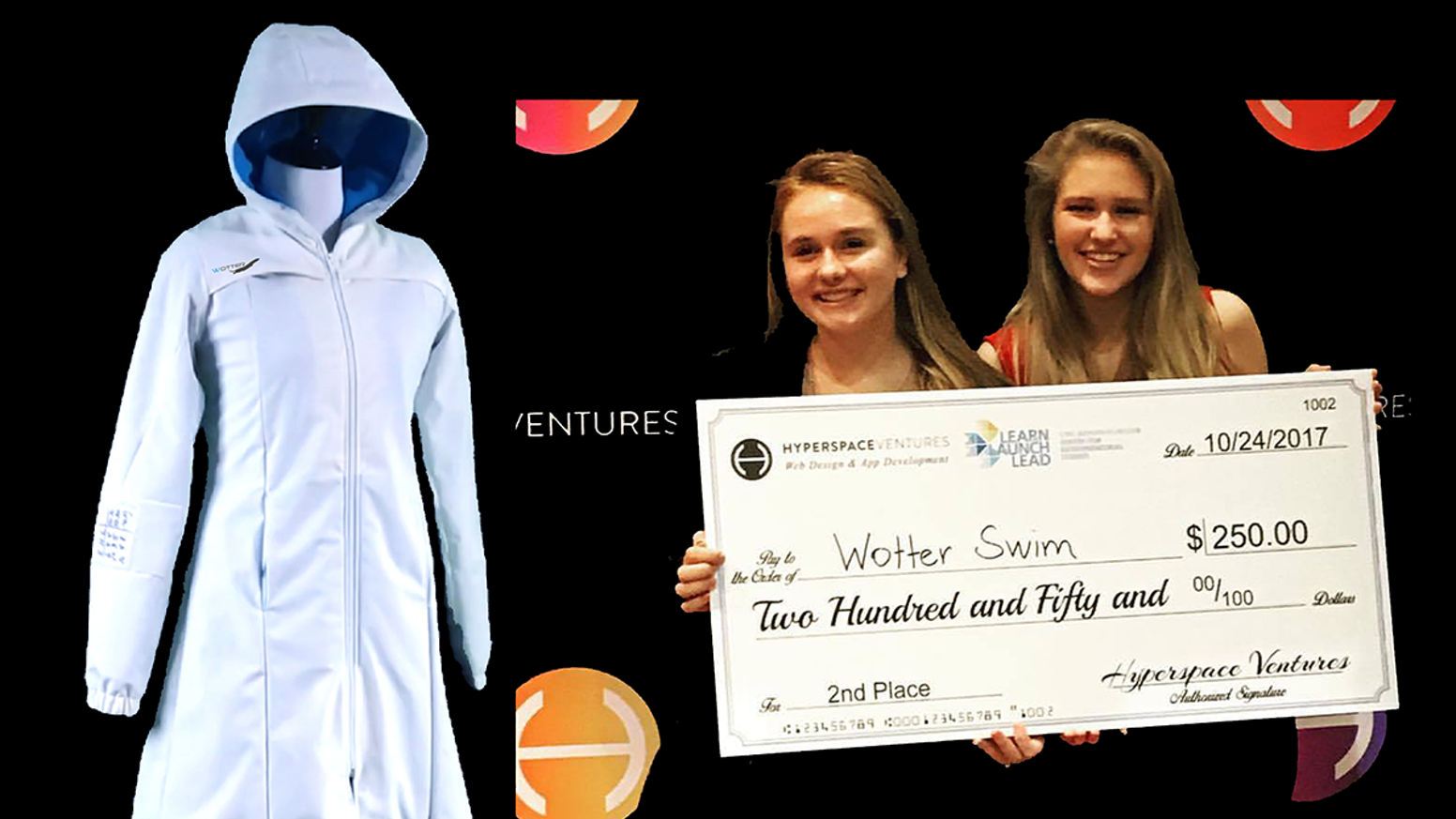 Designed BY girl swimmers FOR girl swimmers Wotter Girl's Swim Parka is a cloak of confidence and comfort for the female swim athlete