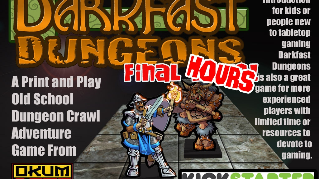 Darkfast Dungeons project video thumbnail