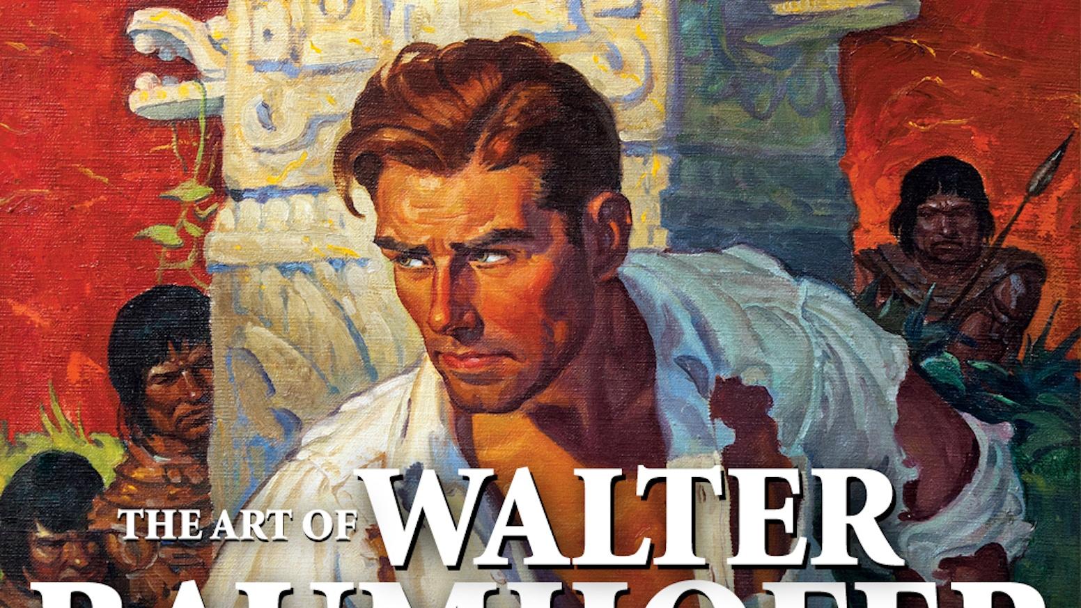 Walter Baumhofer By David Saunders By The Illustrated Press Inc Tom Lovell Illustrator Kickstarter