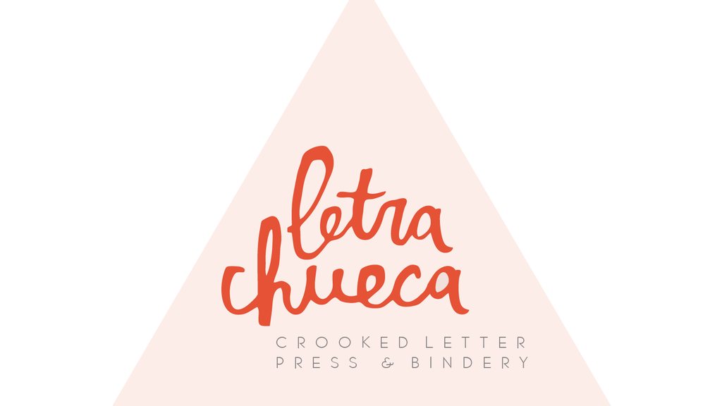 Letra Chueca / Crooked Letter: a printshop & bindery project video thumbnail