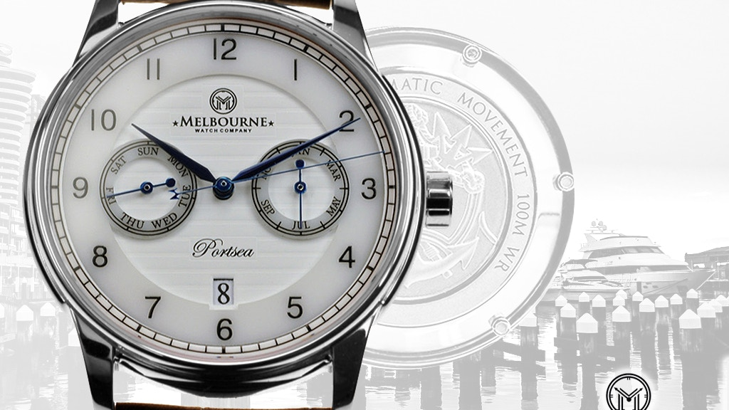 """The """"Portsea"""" by Melbourne Watch Company project video thumbnail"""