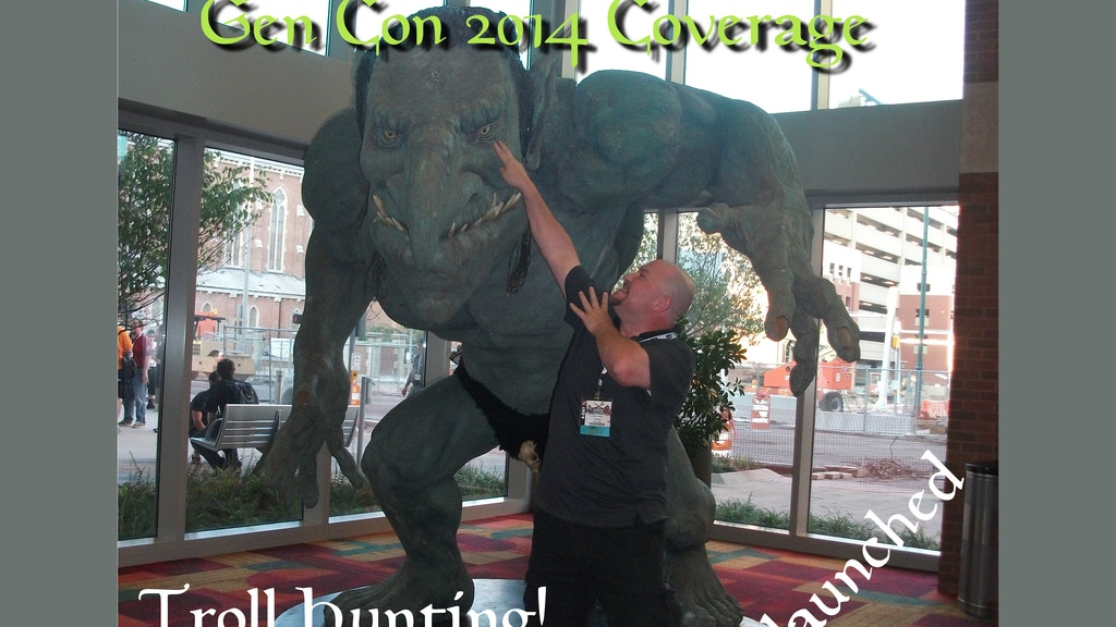 Through Gamer Goggles Gen Con 2014 Media Coverage project video thumbnail