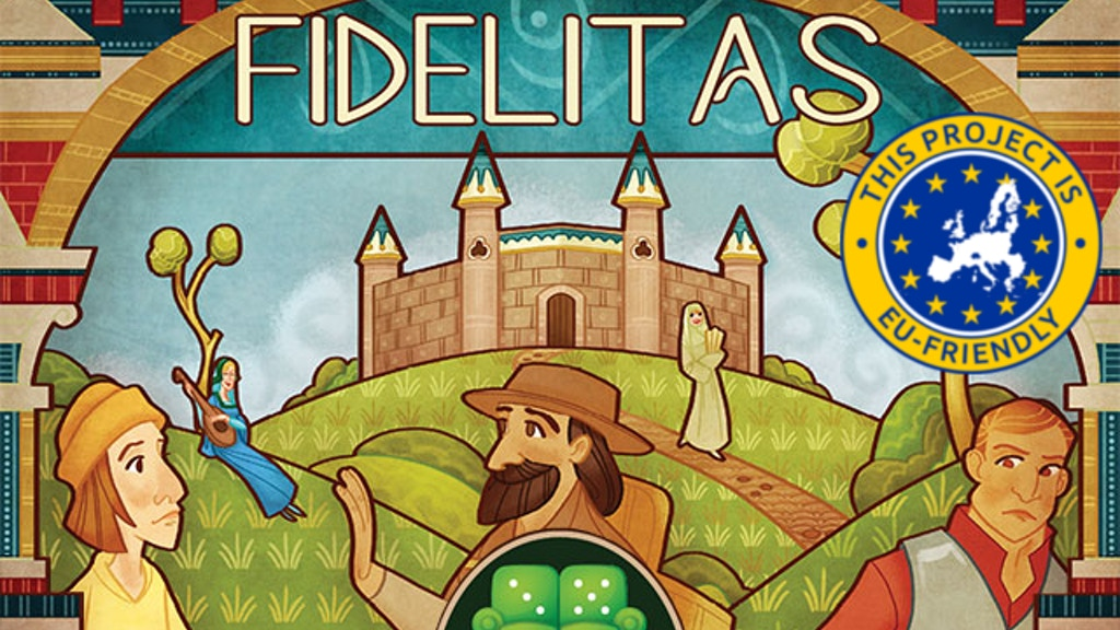 Fidelitas: A card game of medieval meddling for 2-4 players! project video thumbnail