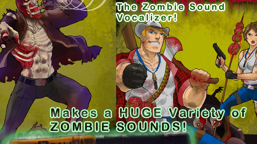 Project image for ZomBcall Zombie Sound Maker - BEST GIFT FOR ZOMBIE FANS!