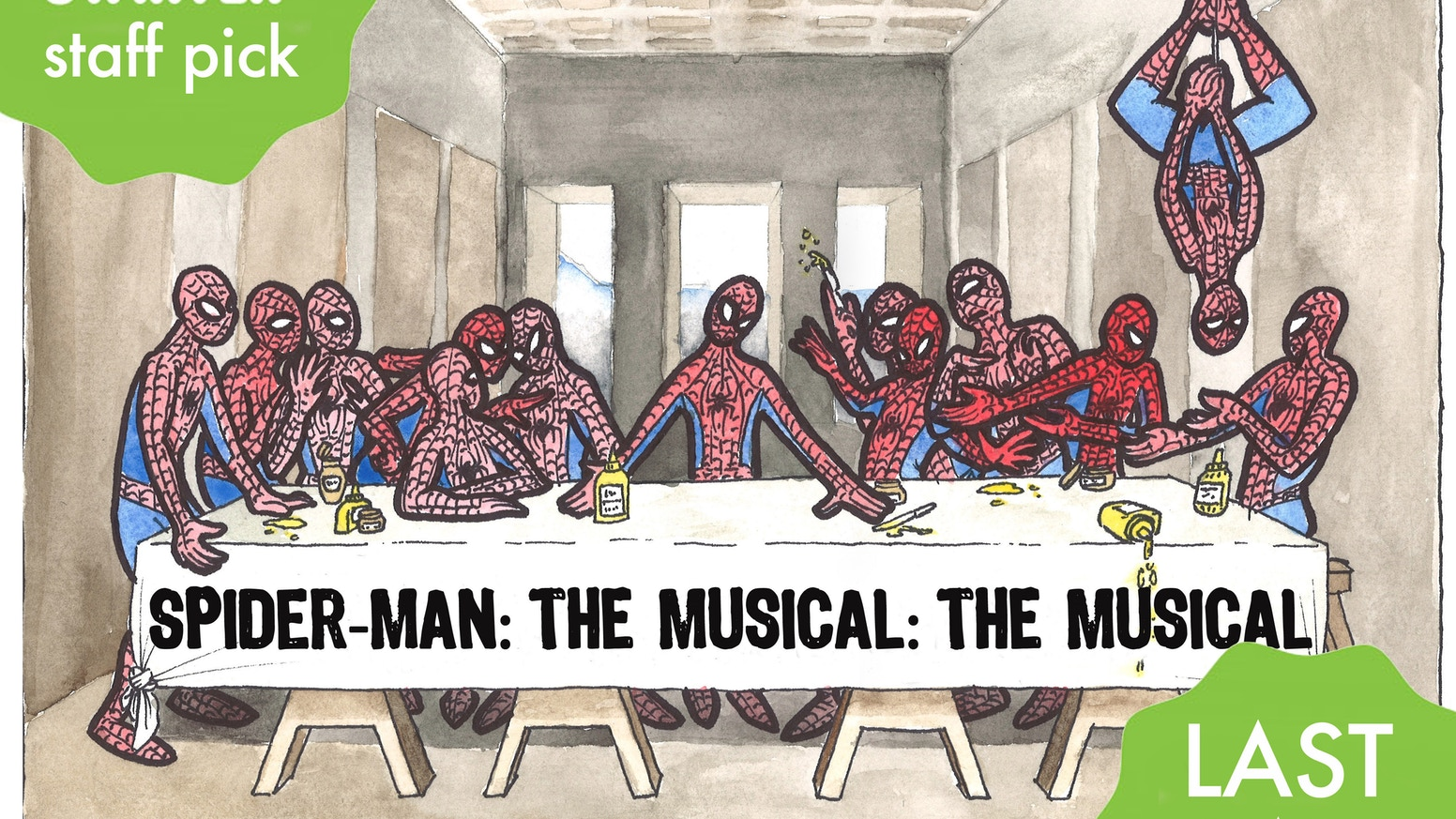 """A play within a play (within a play?) The """"Inception"""" of backyard musicals. With great power comes... little to no responsibility."""