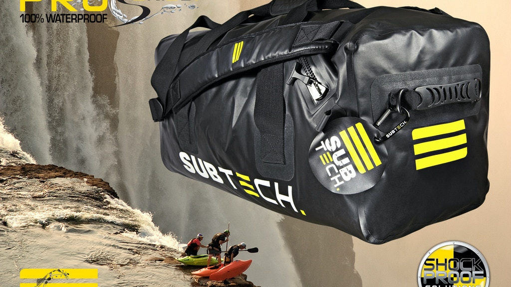 PRO DRYBAG 45L - 100% Waterproof (50m/164ft) project video thumbnail