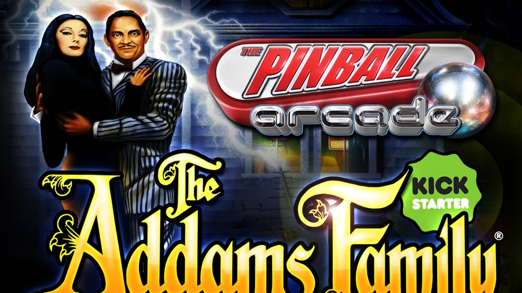 Pinball Arcade: The Addams Family project video thumbnail