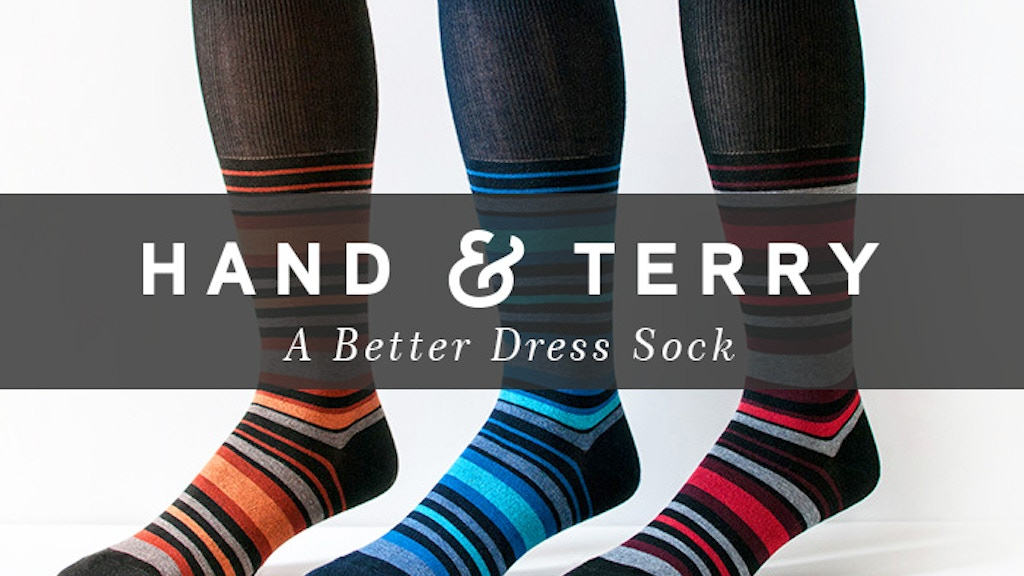 Hand & Terry: A Better Dress Sock project video thumbnail