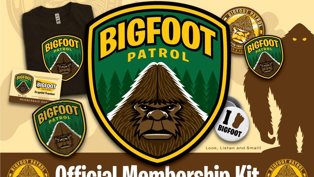 "Project image for ""Bigfoot Patrol"" Membership Kit - Artist Merchandise"