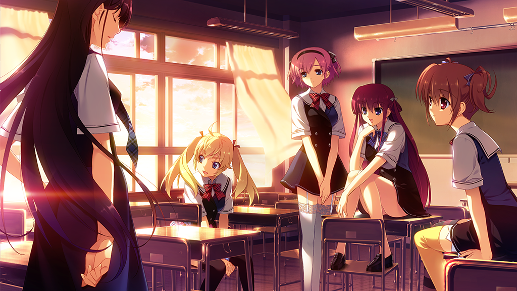 The Grisaia Trilogy: Three Huge Visual Novels for PC project video thumbnail