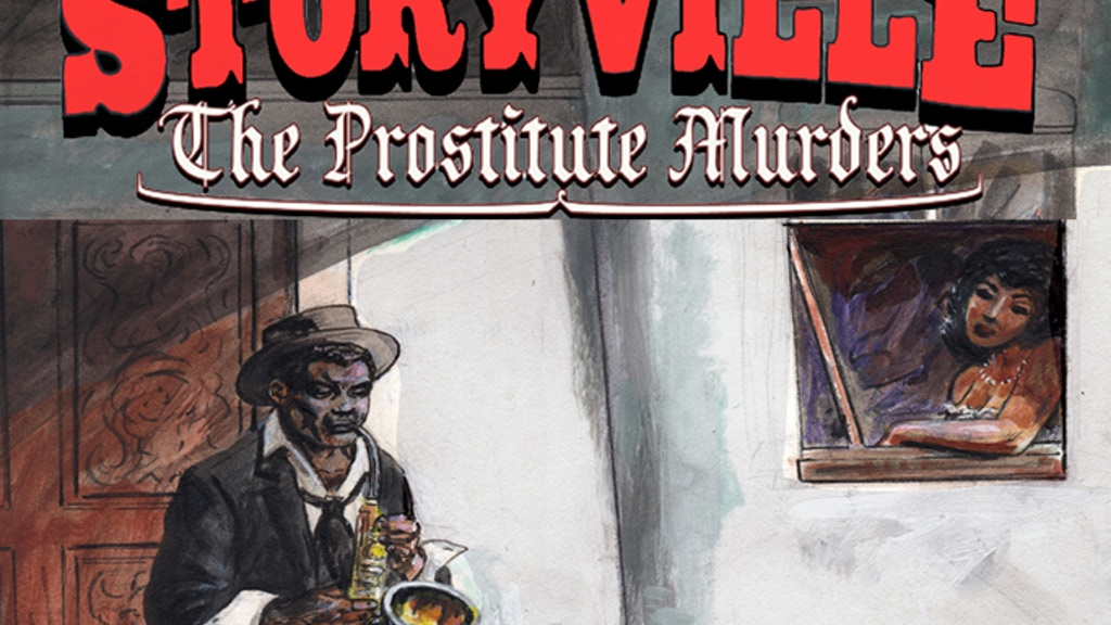 Project image for Storyville: The Prostitute Murders Original GN (Canceled)