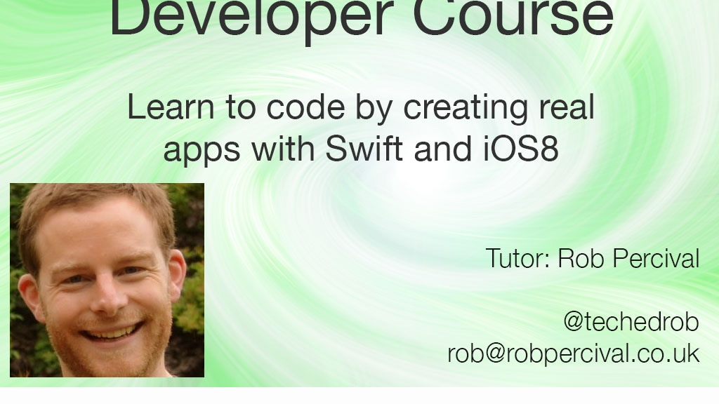 Complete iOS 8 Developer Course Using Swift - No Mac Needed! project video thumbnail