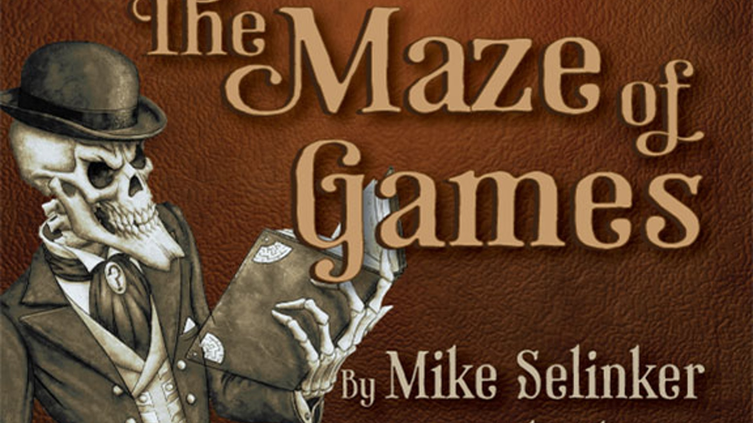 An audio version of Mike Selinker and Pete Venters' Maze of Games interactive puzzle novel, narrated by actor and author Wil Wheaton.