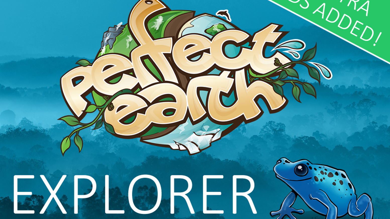 A fun card game in which 2-3 players grow their own rainforest and introduce a rich variety of animals to it. Now available for sale!