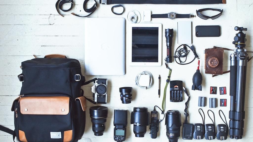 VENQUE Smart DSLR Pro Bag project video thumbnail