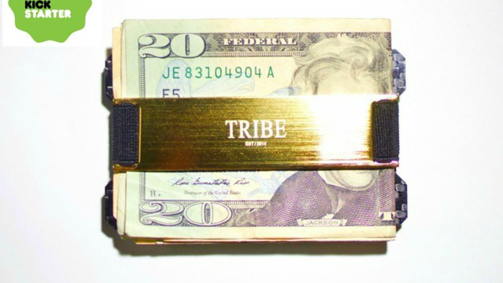 "TRIBE ""The Sexiest Minimalist Wallet"" 24K Gold Plated project video thumbnail"