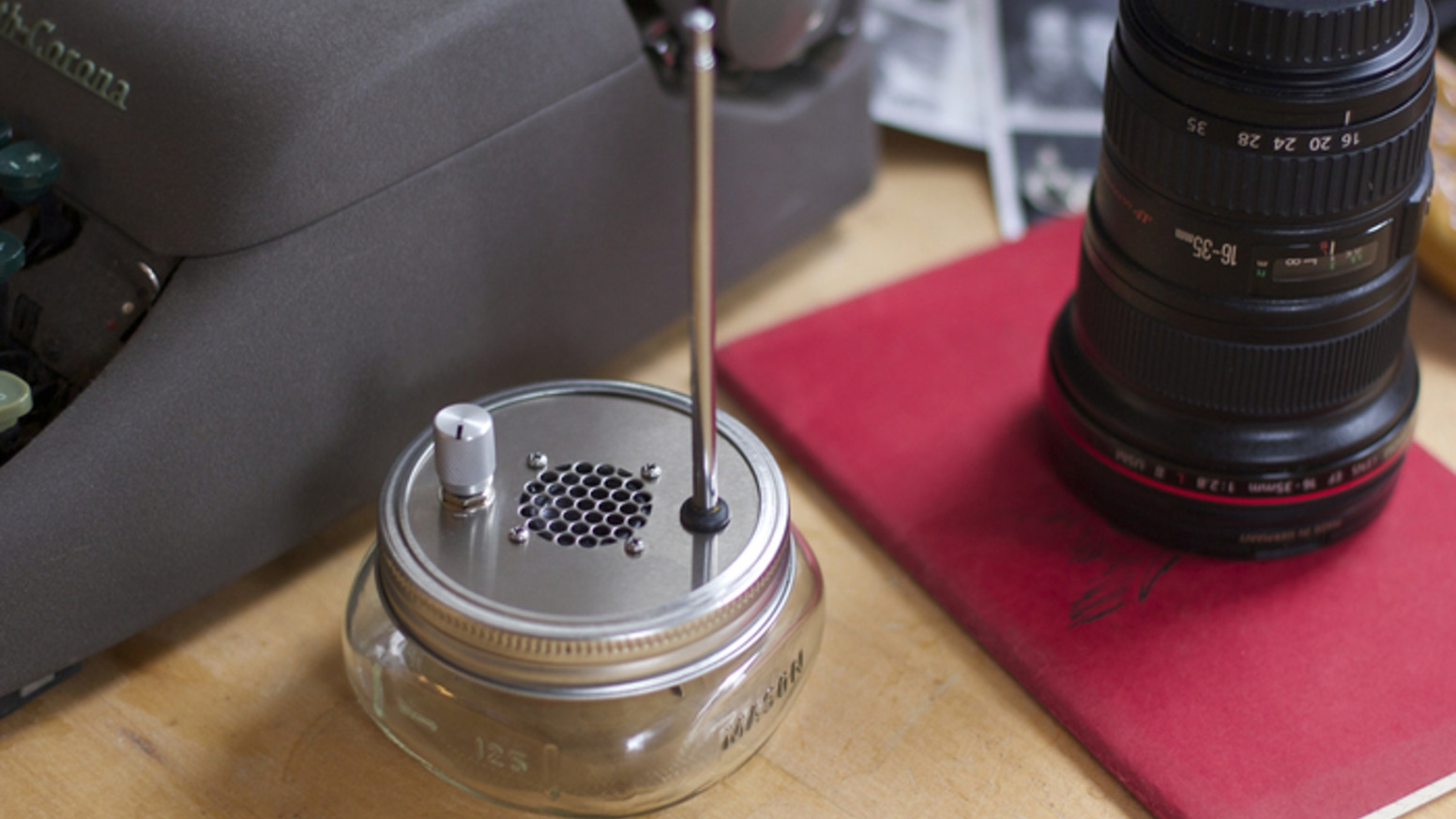 The Public Radio Single Station Fm By Centerline Make This Simple Circuit Using A Electronic Is Pre Tuned In Mason Jar