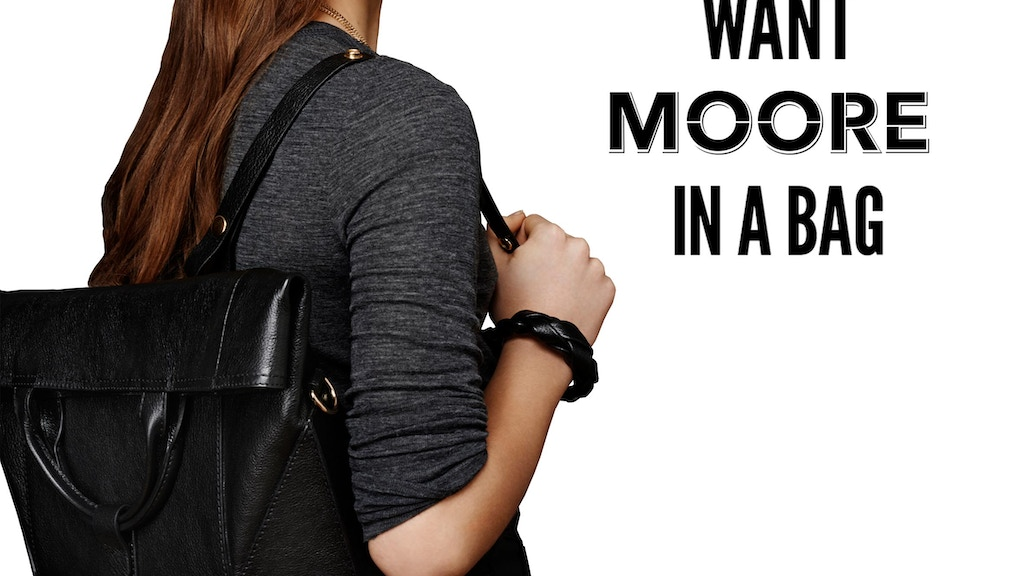 Want MOORE in a Bag? Introducing the CONVERTIBLE  BACKPACK project video thumbnail