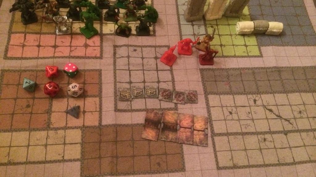 Project image for fantasy rpg travel starter set tabletop miniatures updated!!